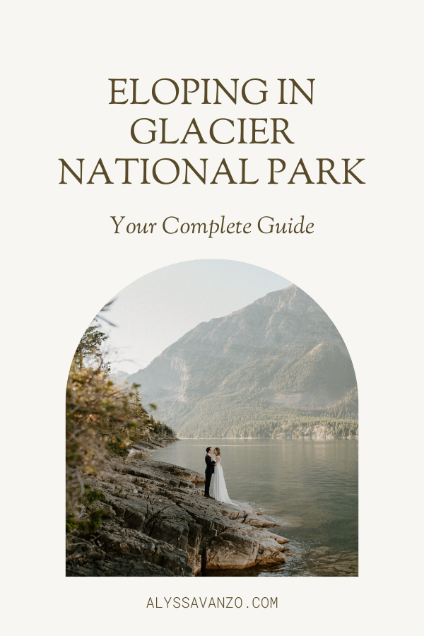 Guide Cover for Eloping in Glacier National Park by Alyssa Vanzo Photography