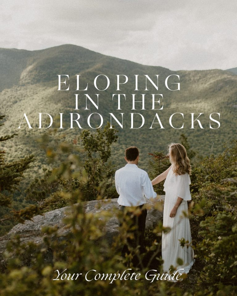 Best places to elope in the Adirondacks
